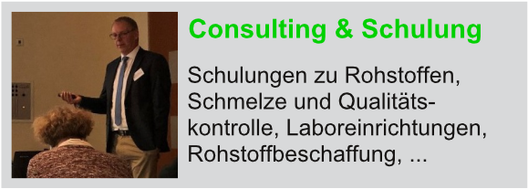 Consulting & Schulungen